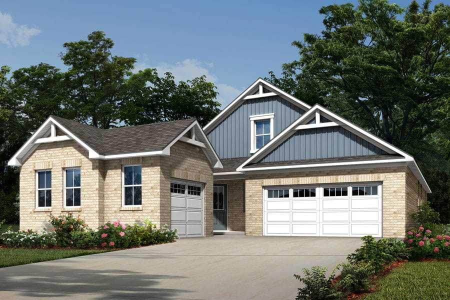 Exterior featured in the Martin By Mattamy Homes in Charlotte, NC