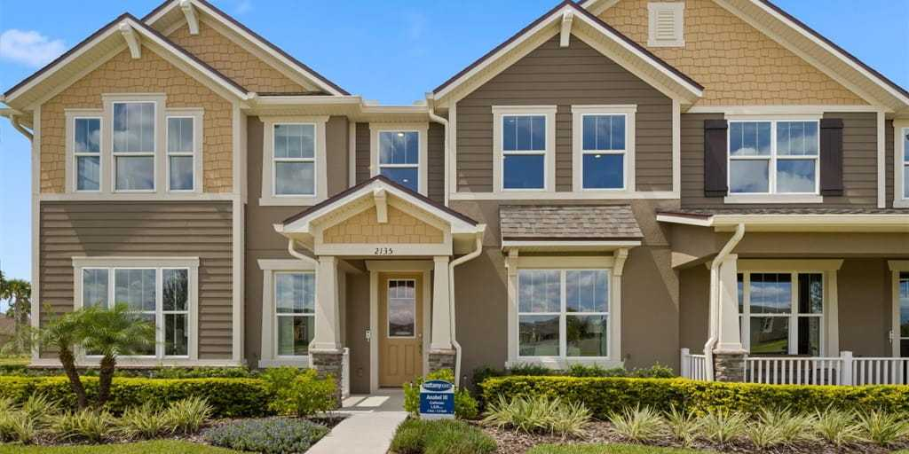 Exterior featured in the Anabel III By Mattamy Homes in Orlando, FL