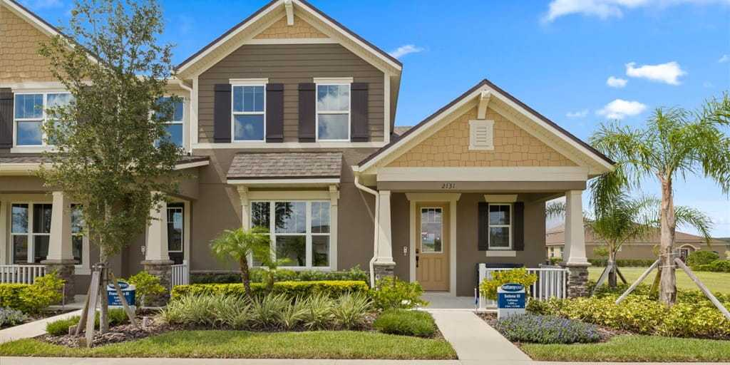 Exterior featured in the Selena III By Mattamy Homes in Orlando, FL