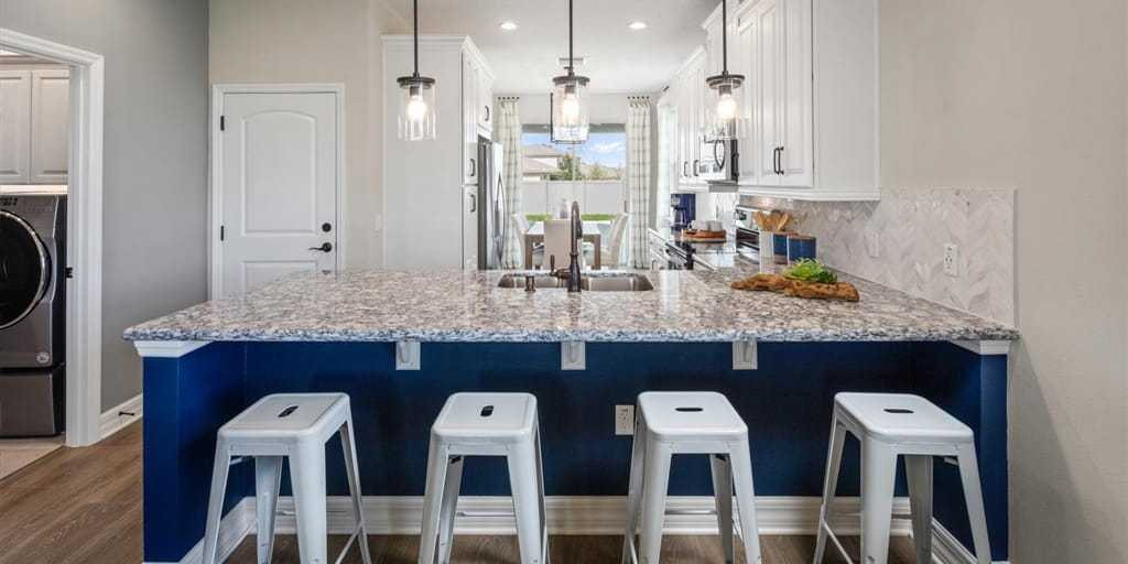 Kitchen featured in the Selena III By Mattamy Homes in Orlando, FL