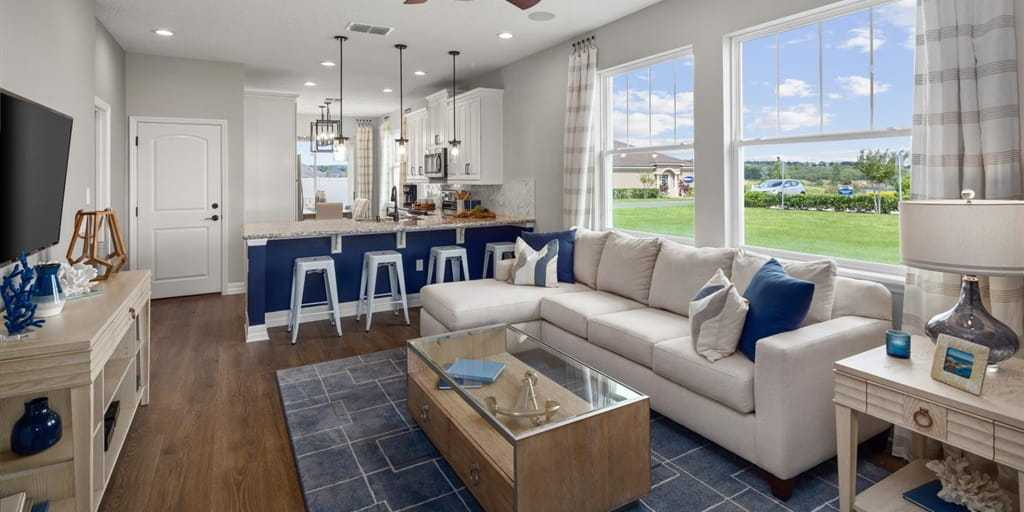 Living Area featured in the Selena III By Mattamy Homes in Orlando, FL