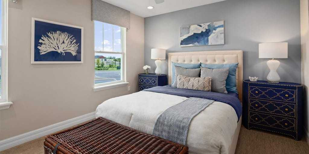 Bedroom featured in the Selena III By Mattamy Homes in Orlando, FL