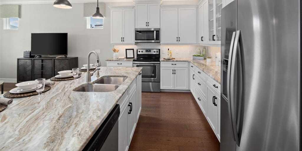 Kitchen featured in the Crescent By Mattamy Homes in Orlando, FL