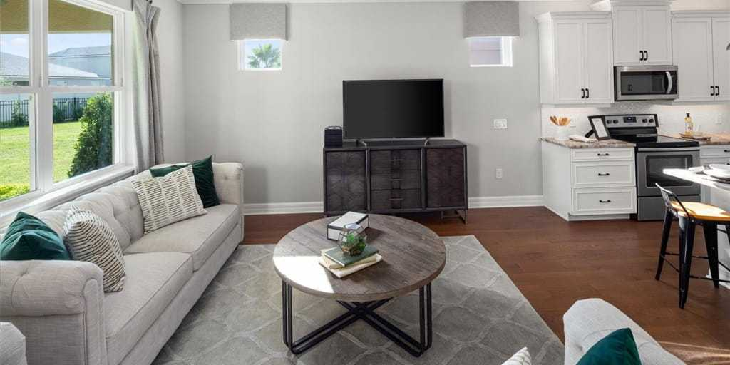 Living Area featured in the Crescent By Mattamy Homes in Orlando, FL