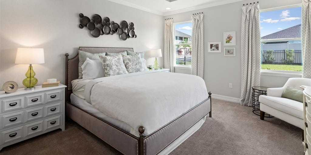 Bedroom featured in the Crescent By Mattamy Homes in Orlando, FL