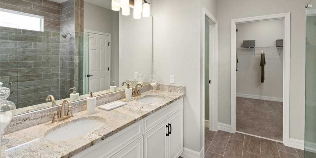 Bathroom featured in the Crescent By Mattamy Homes in Orlando, FL