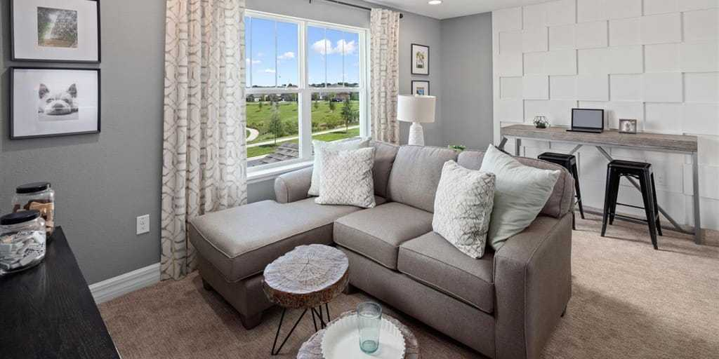 Living Area featured in the Griffin By Mattamy Homes in Orlando, FL