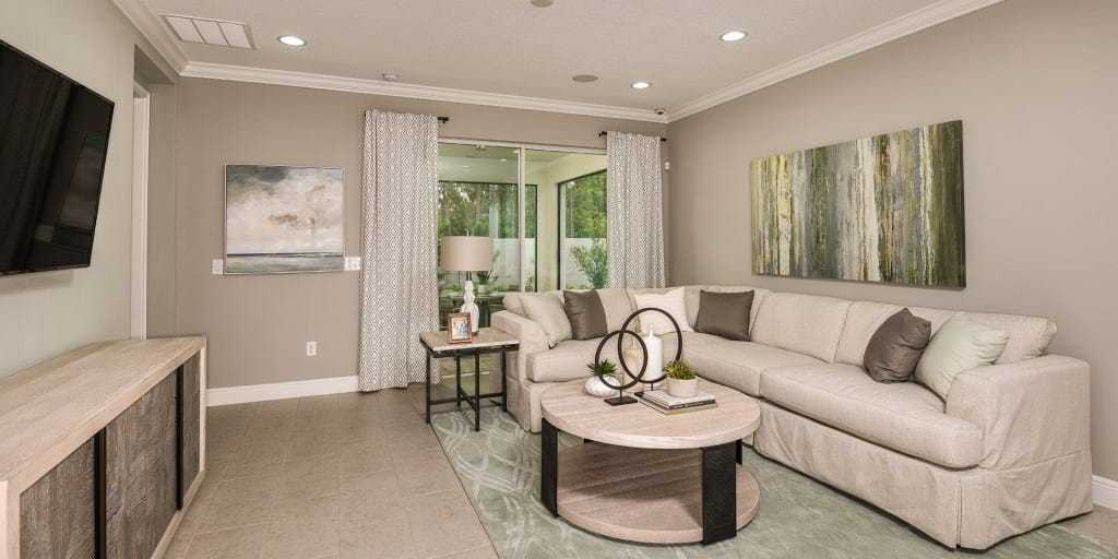 Living Area featured in the Amelia By Mattamy Homes in Tampa-St. Petersburg, FL