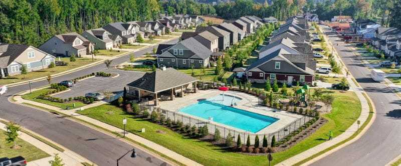 'Lake Crest' by Mattamy Homes-Charlotte in Charlotte