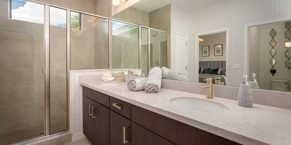 Bathroom featured in the Dakota By Mattamy Homes in Palm Beach County, FL