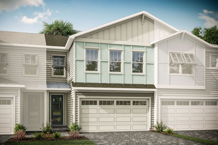 Exterior featured in the Darya By Mattamy Homes in Jacksonville-St. Augustine, FL
