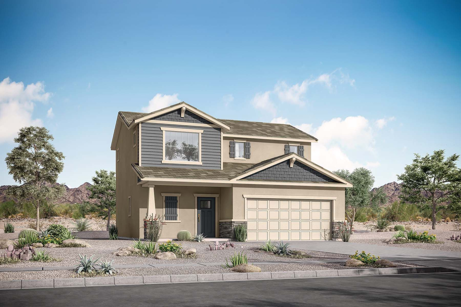 Exterior featured in the Arbor By Mattamy Homes in Phoenix-Mesa, AZ