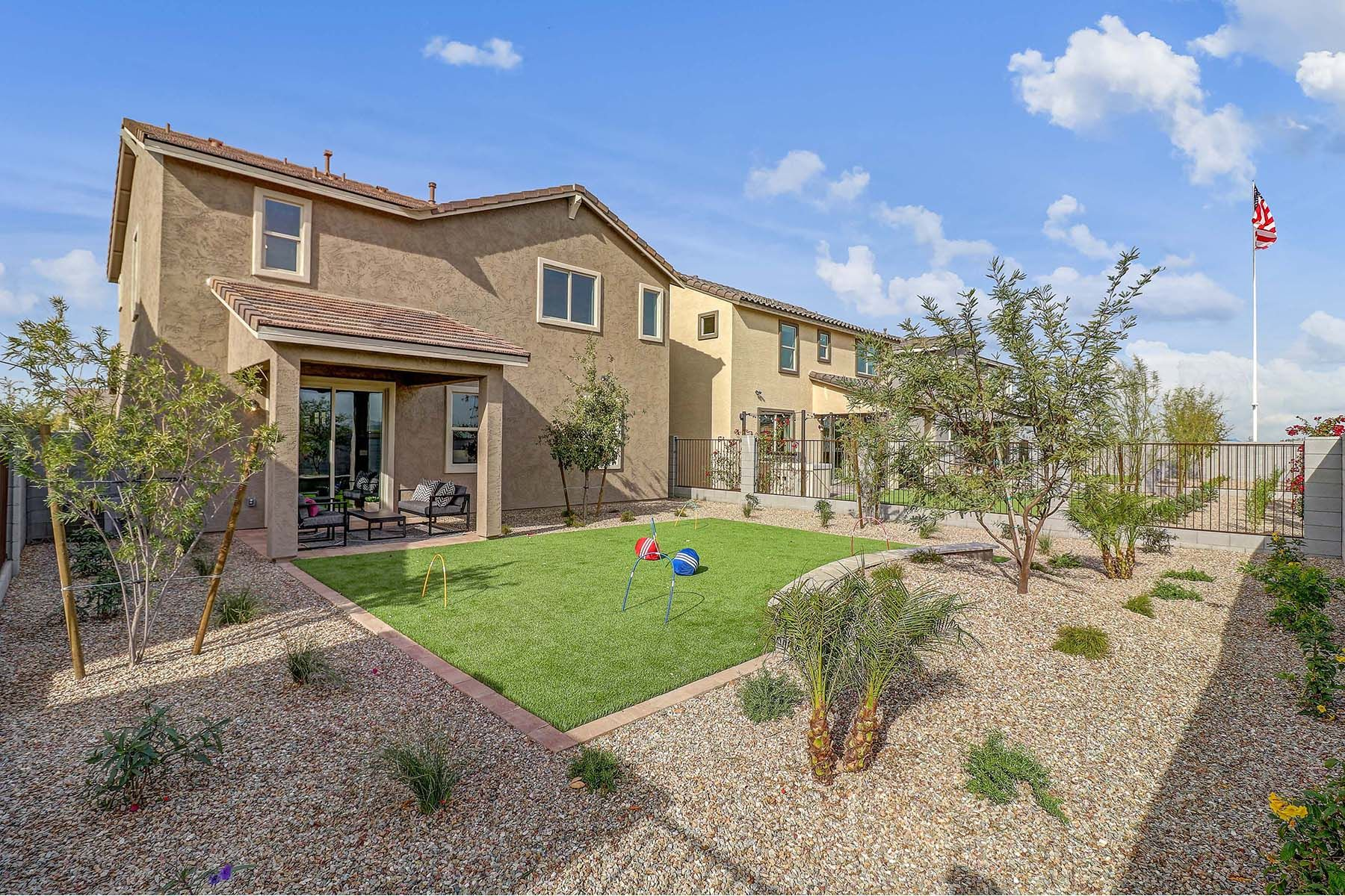 Exterior featured in the Whatley By Mattamy Homes in Phoenix-Mesa, AZ