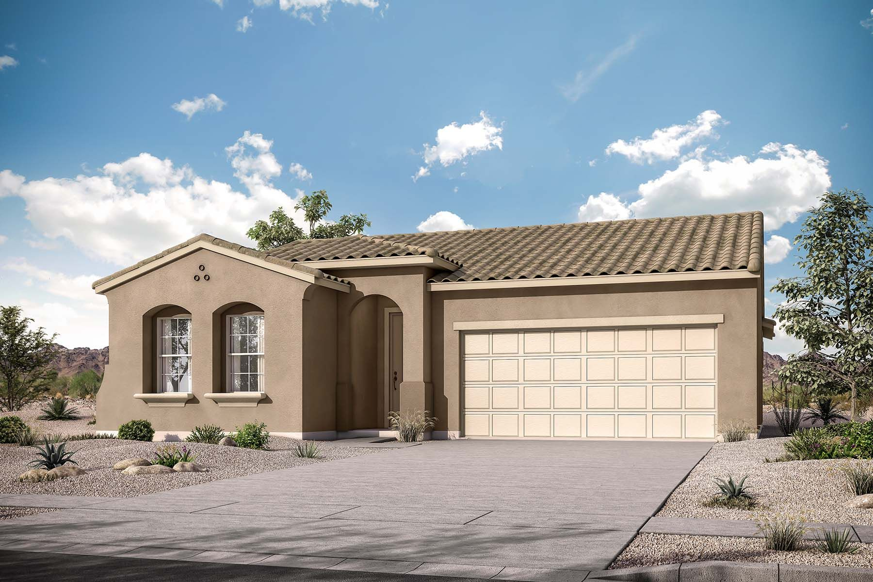 Exterior featured in the Benson By Mattamy Homes in Phoenix-Mesa, AZ