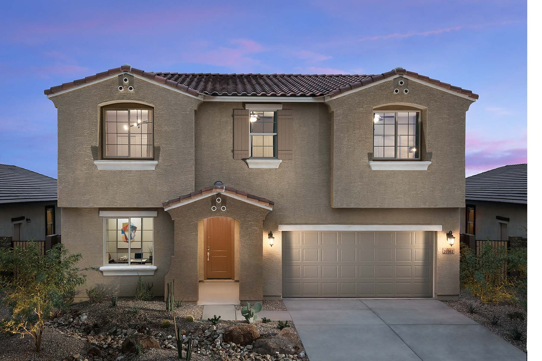 Exterior featured in the Watson By Mattamy Homes in Phoenix-Mesa, AZ