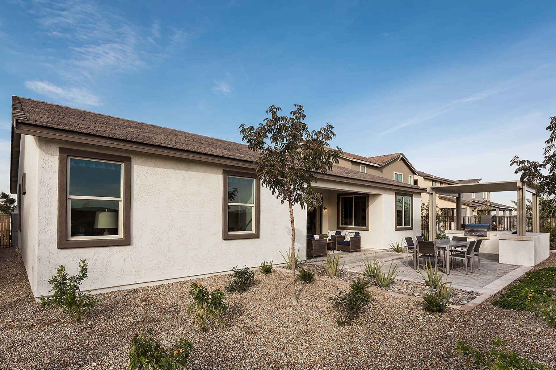 Exterior featured in the Kensington By Mattamy Homes in Phoenix-Mesa, AZ