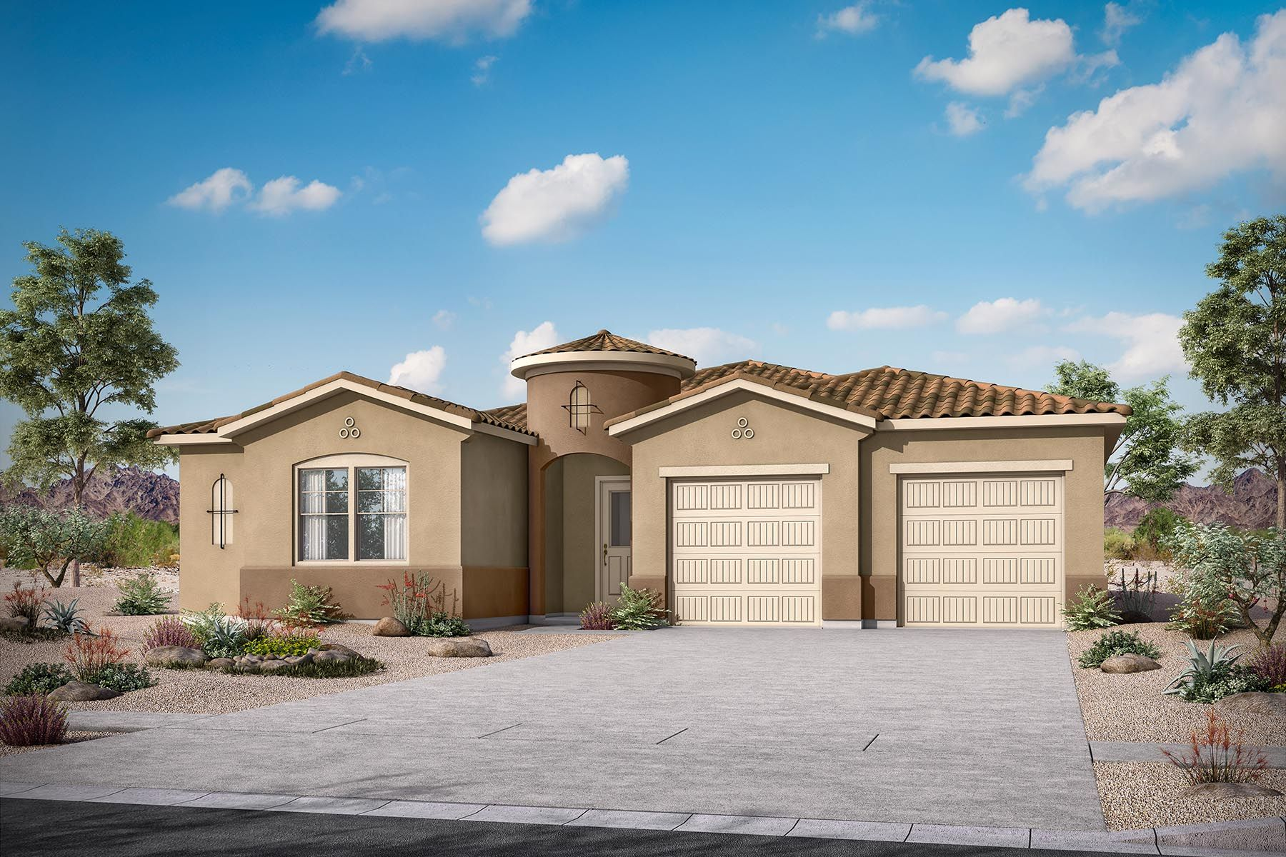 Exterior featured in the Calrosa By Mattamy Homes in Phoenix-Mesa, AZ