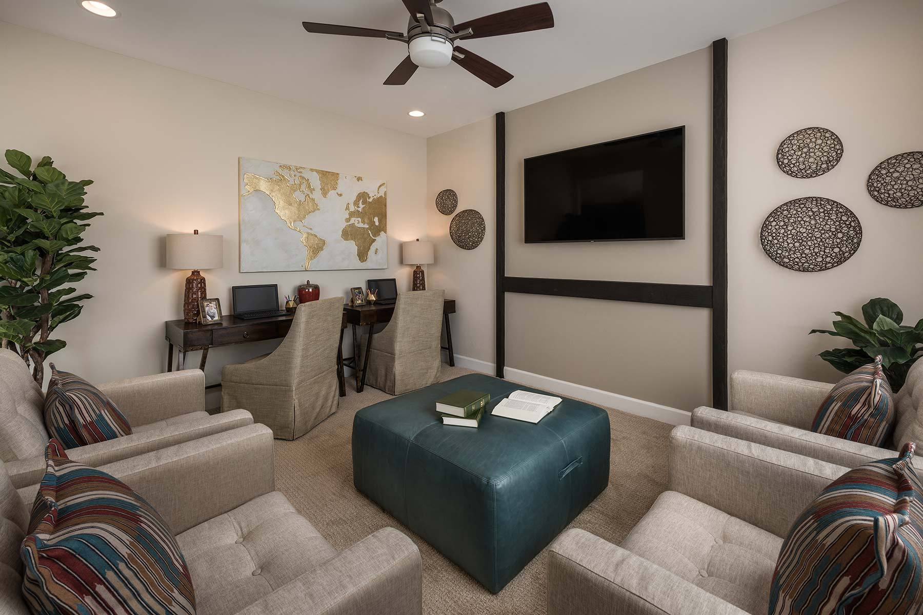 Living Area featured in the Agave By Mattamy Homes in Tucson, AZ