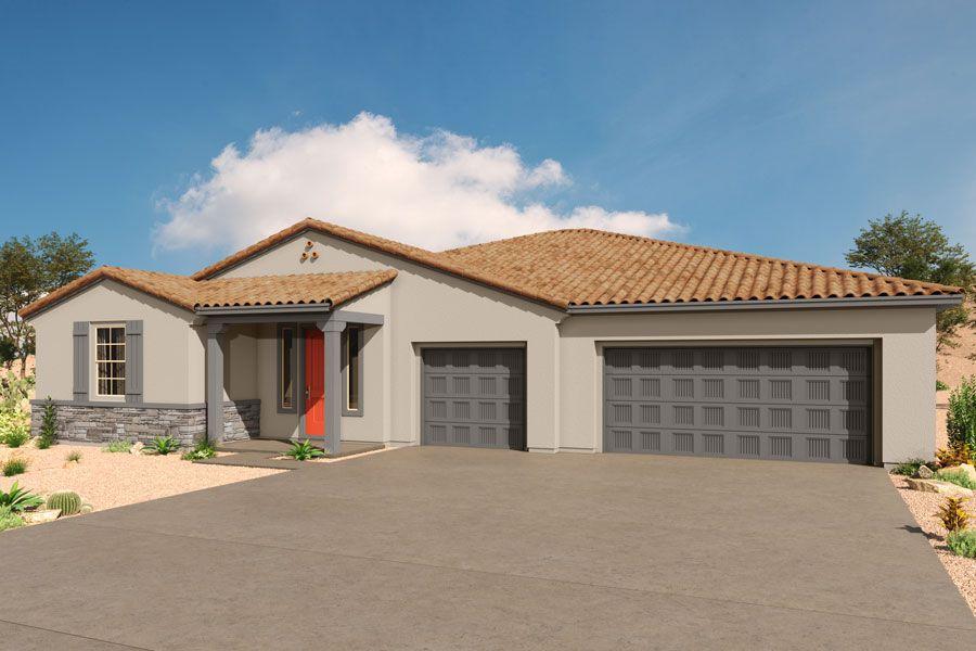 Exterior featured in the Havasu By Mattamy Homes in Tucson, AZ