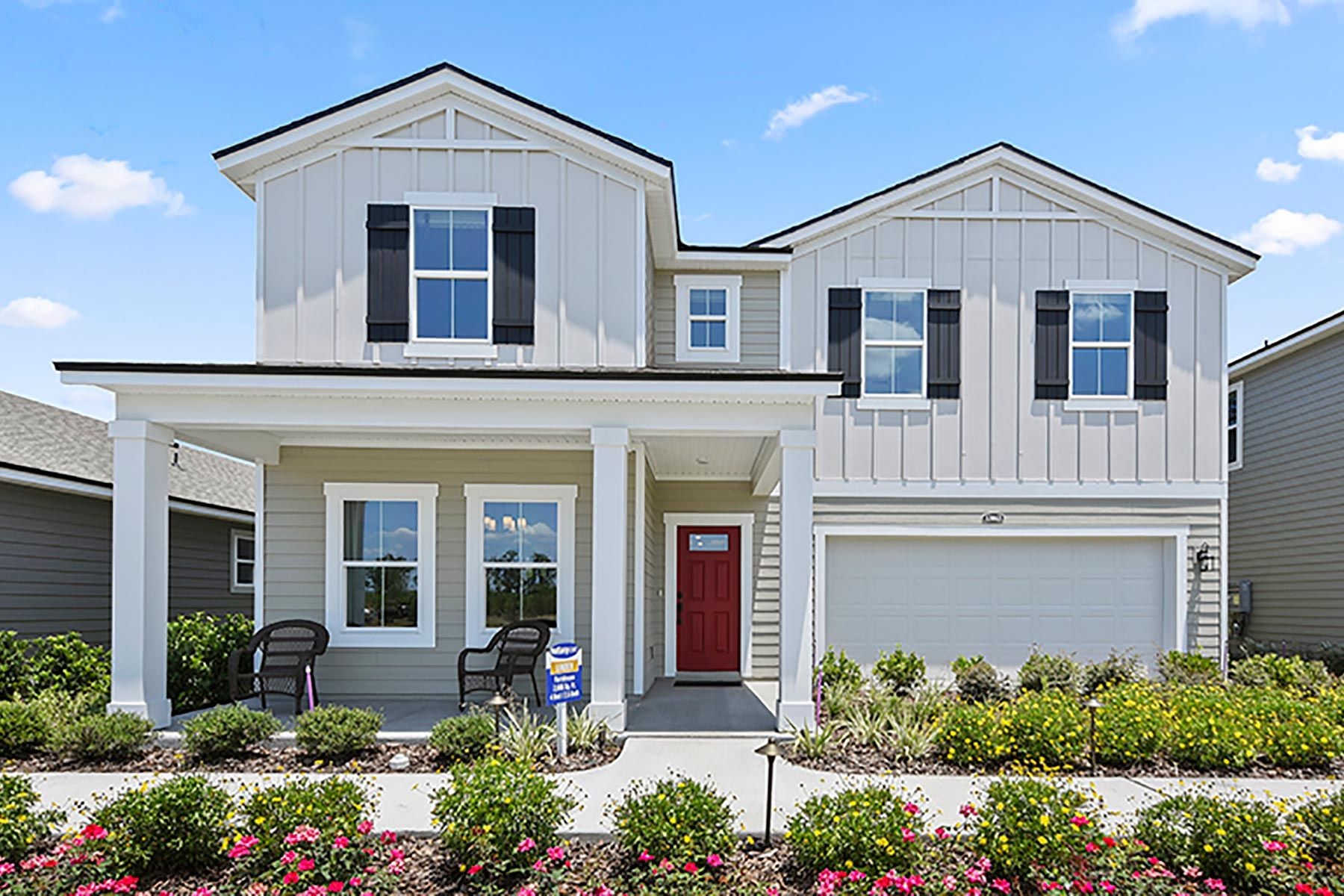 Exterior featured in the Linden By Mattamy Homes in Jacksonville-St. Augustine, FL