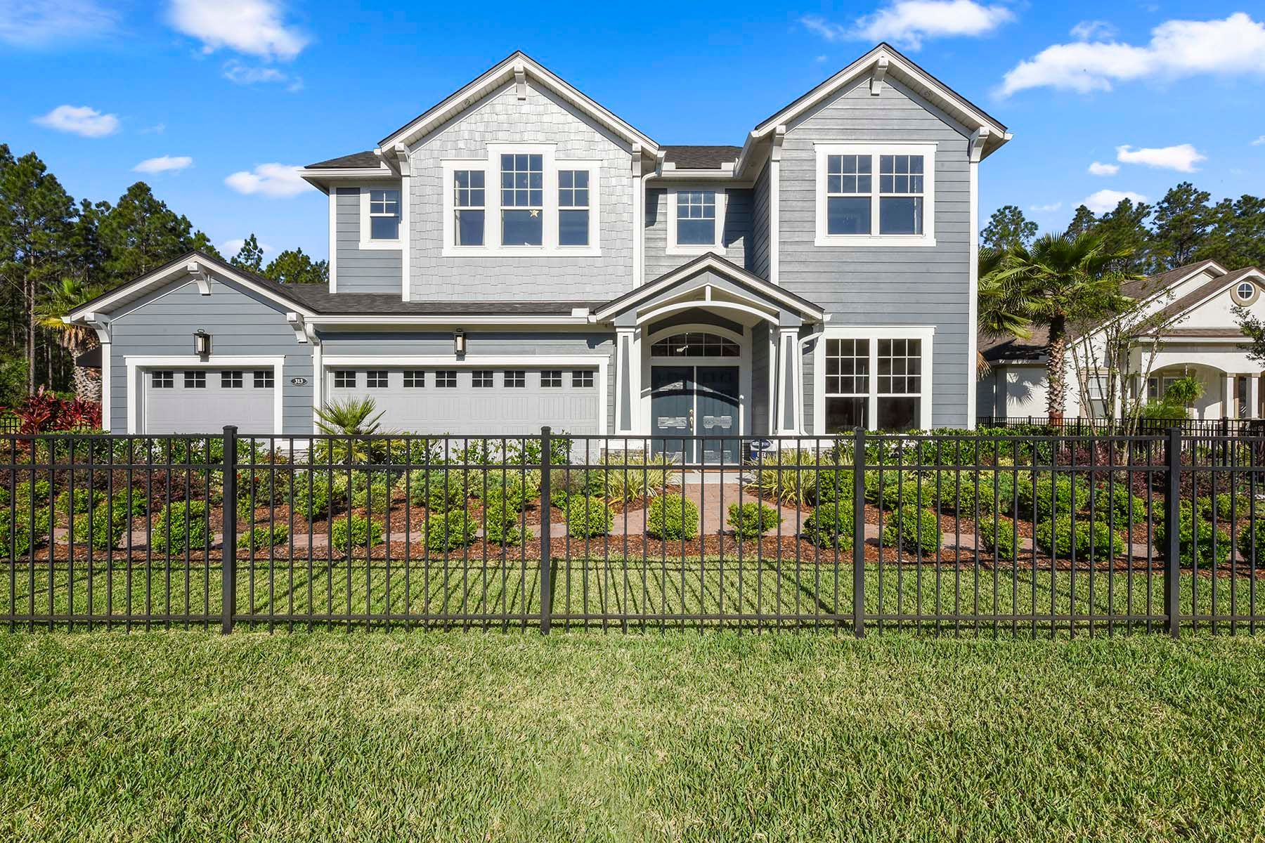 Exterior featured in the Oren By Mattamy Homes in Jacksonville-St. Augustine, FL