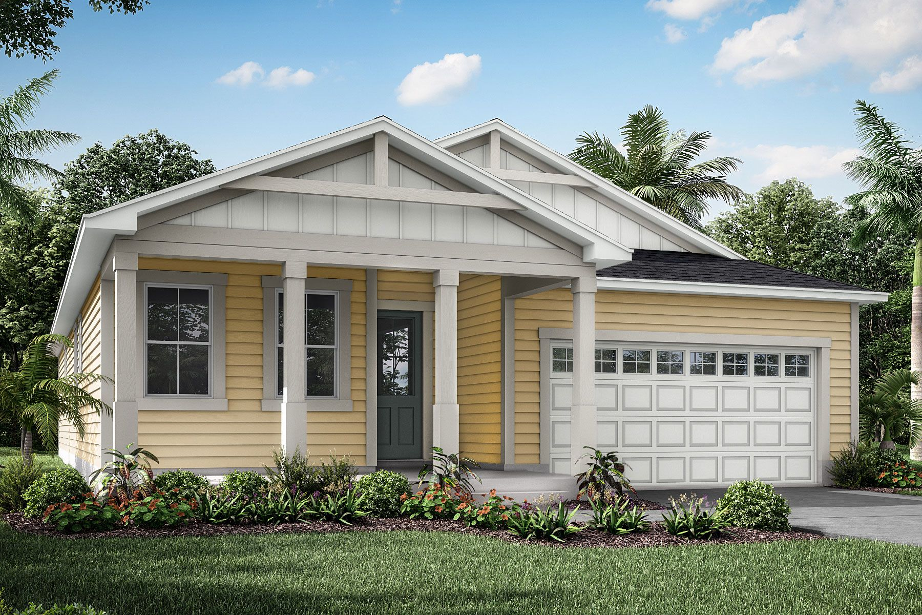 Exterior featured in the Cedar By Mattamy Homes in Jacksonville-St. Augustine, FL