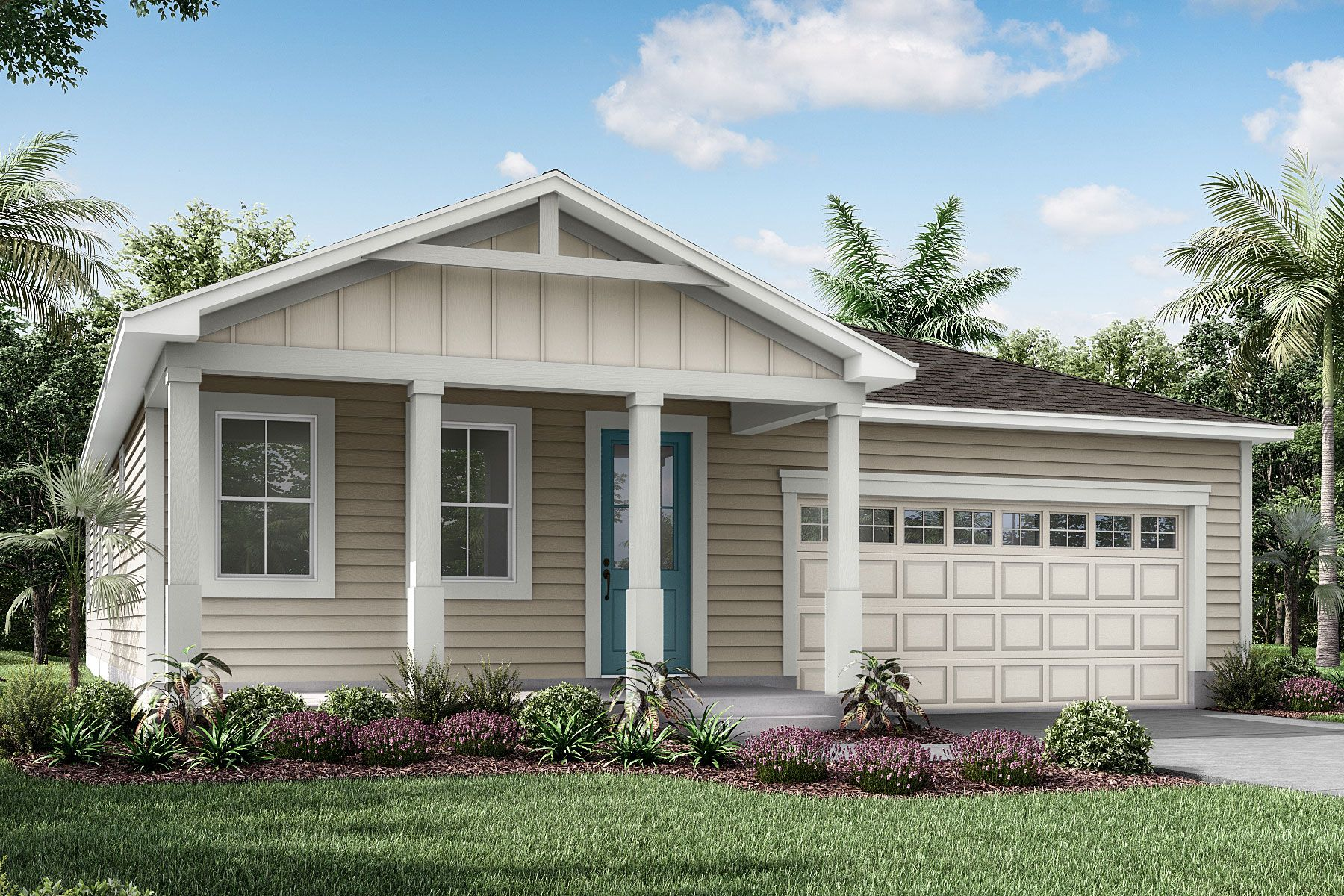 Exterior featured in the Elm By Mattamy Homes in Jacksonville-St. Augustine, FL