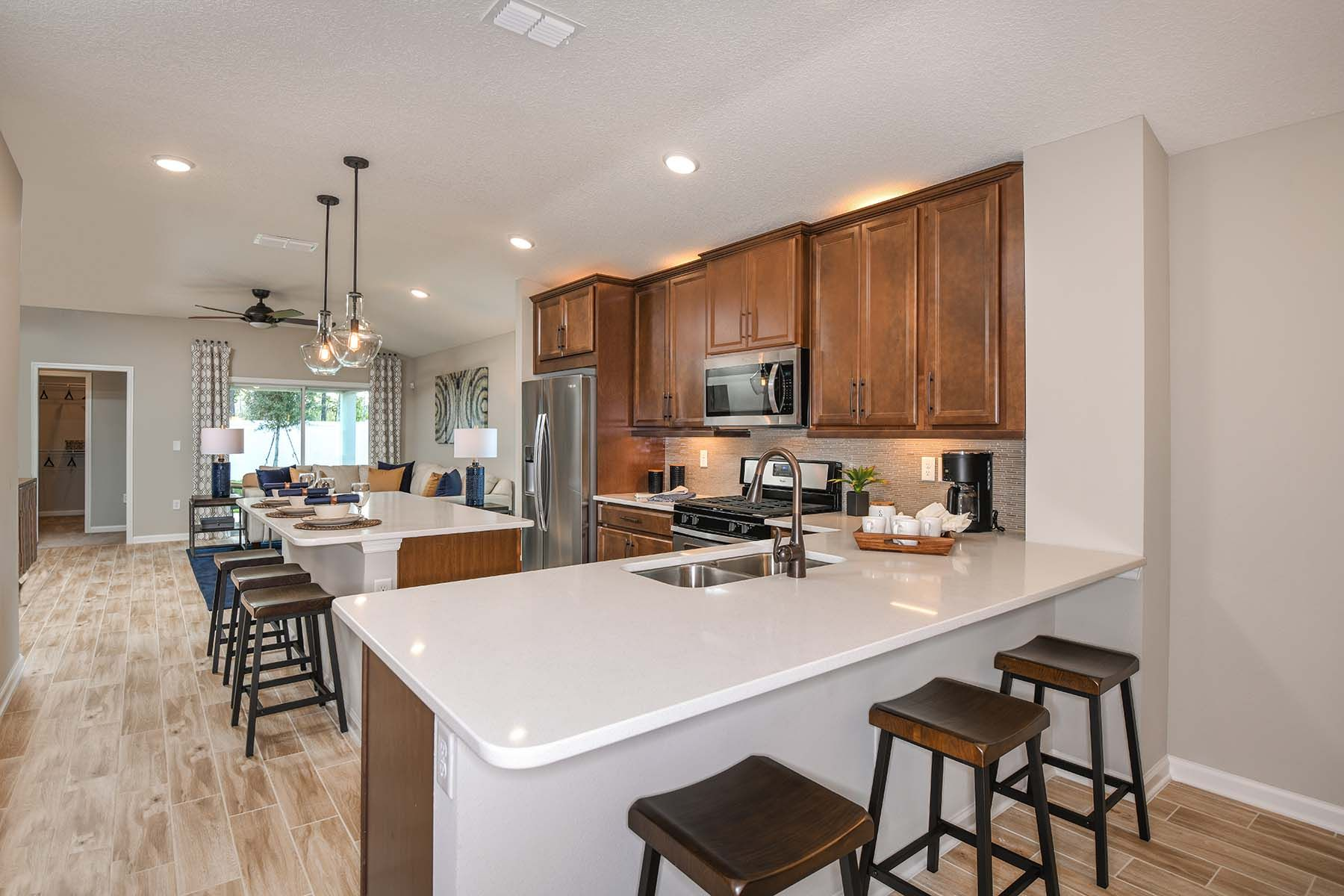 Kitchen featured in the Carrabelle By Mattamy Homes in Jacksonville-St. Augustine, FL
