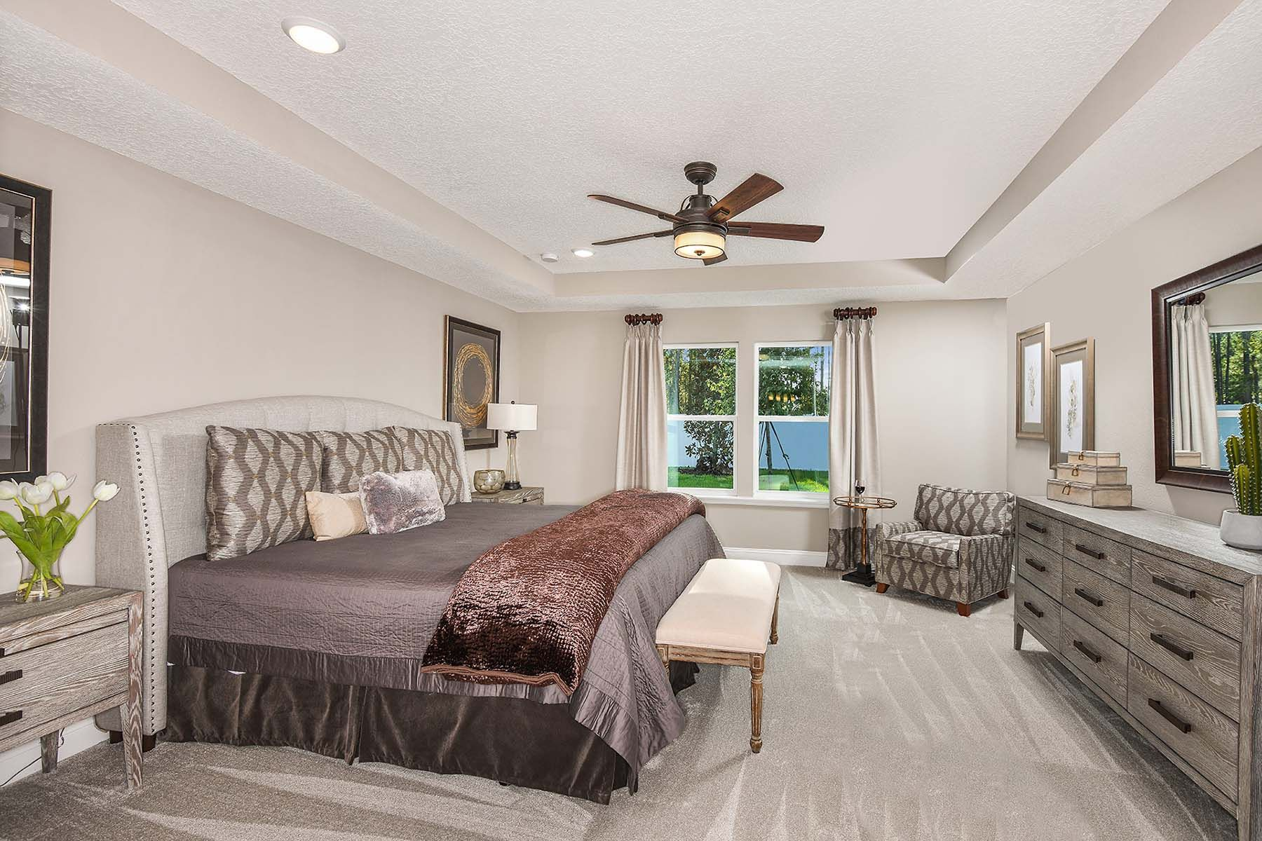 Bedroom featured in the Braden By Mattamy Homes in Jacksonville-St. Augustine, FL