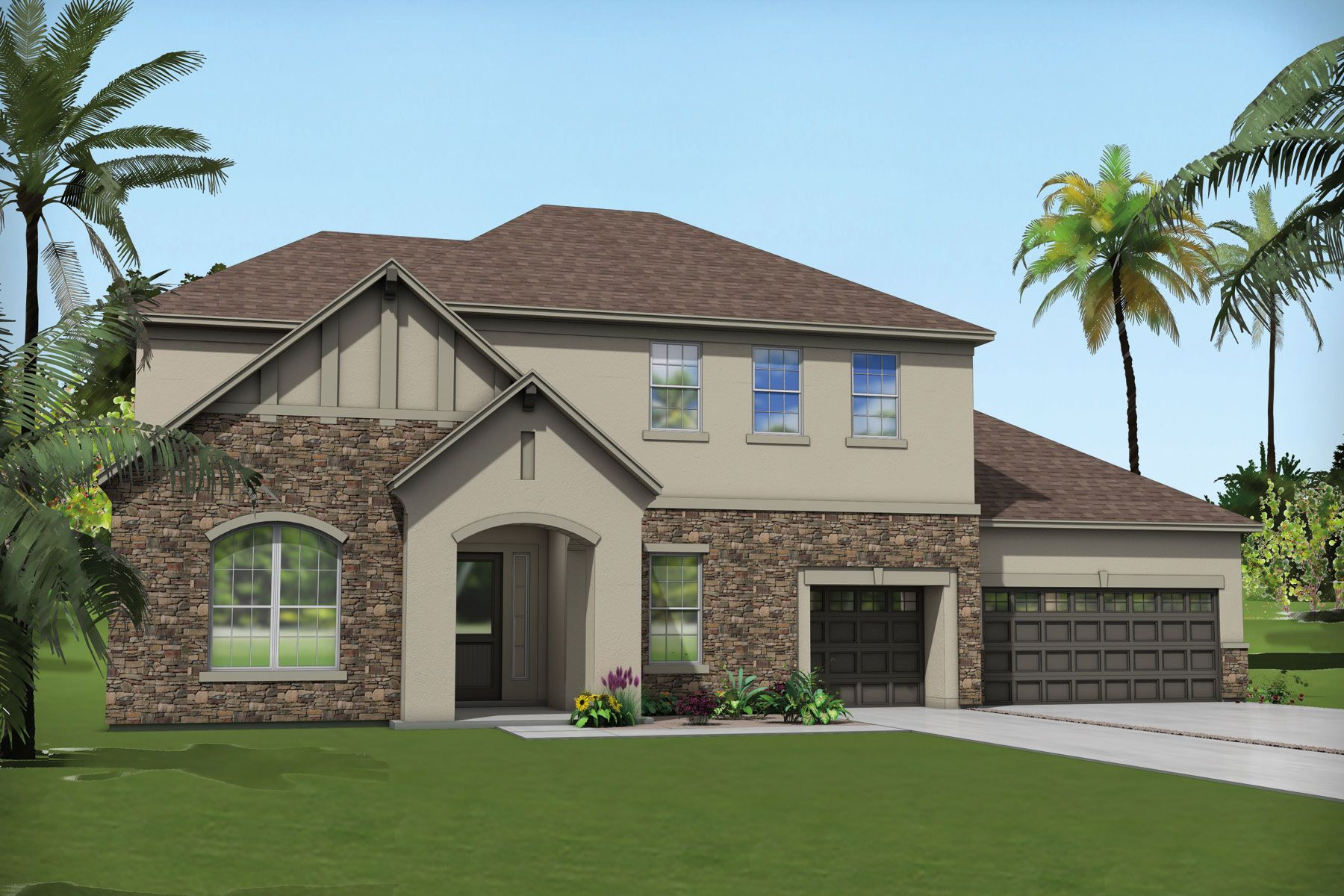 Exterior featured in the Sage By Mattamy Homes in Jacksonville-St. Augustine, FL