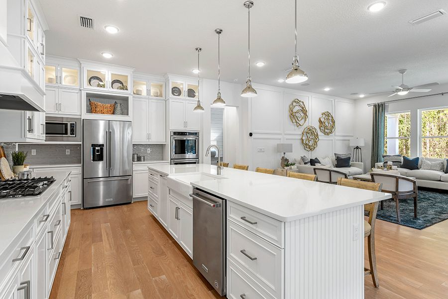 Kitchen featured in the Harbor By Mattamy Homes in Jacksonville-St. Augustine, FL