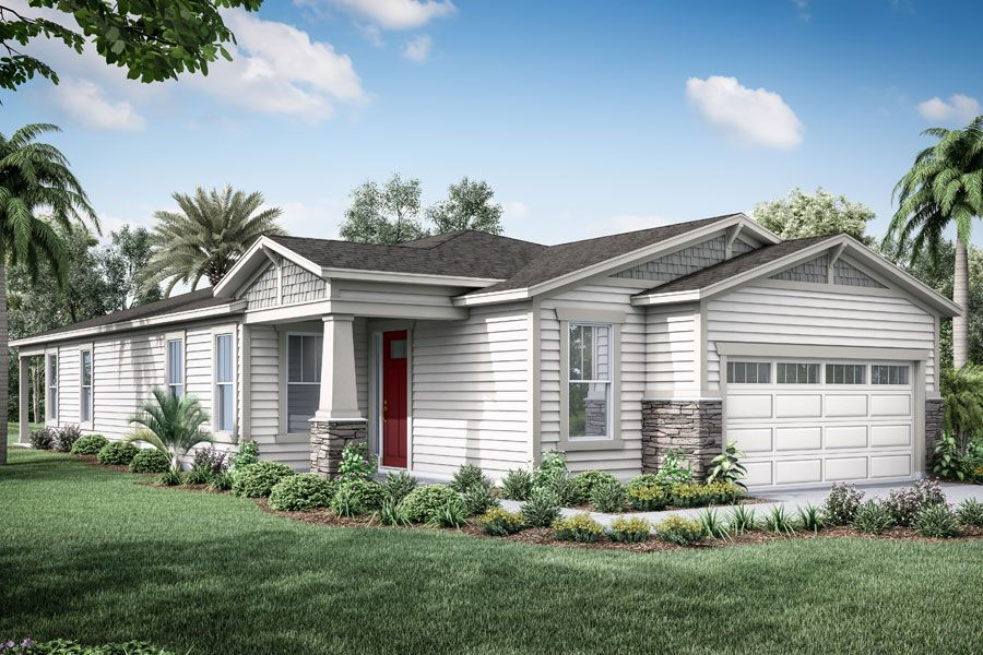 Exterior featured in the Lane By Mattamy Homes in Jacksonville-St. Augustine, FL