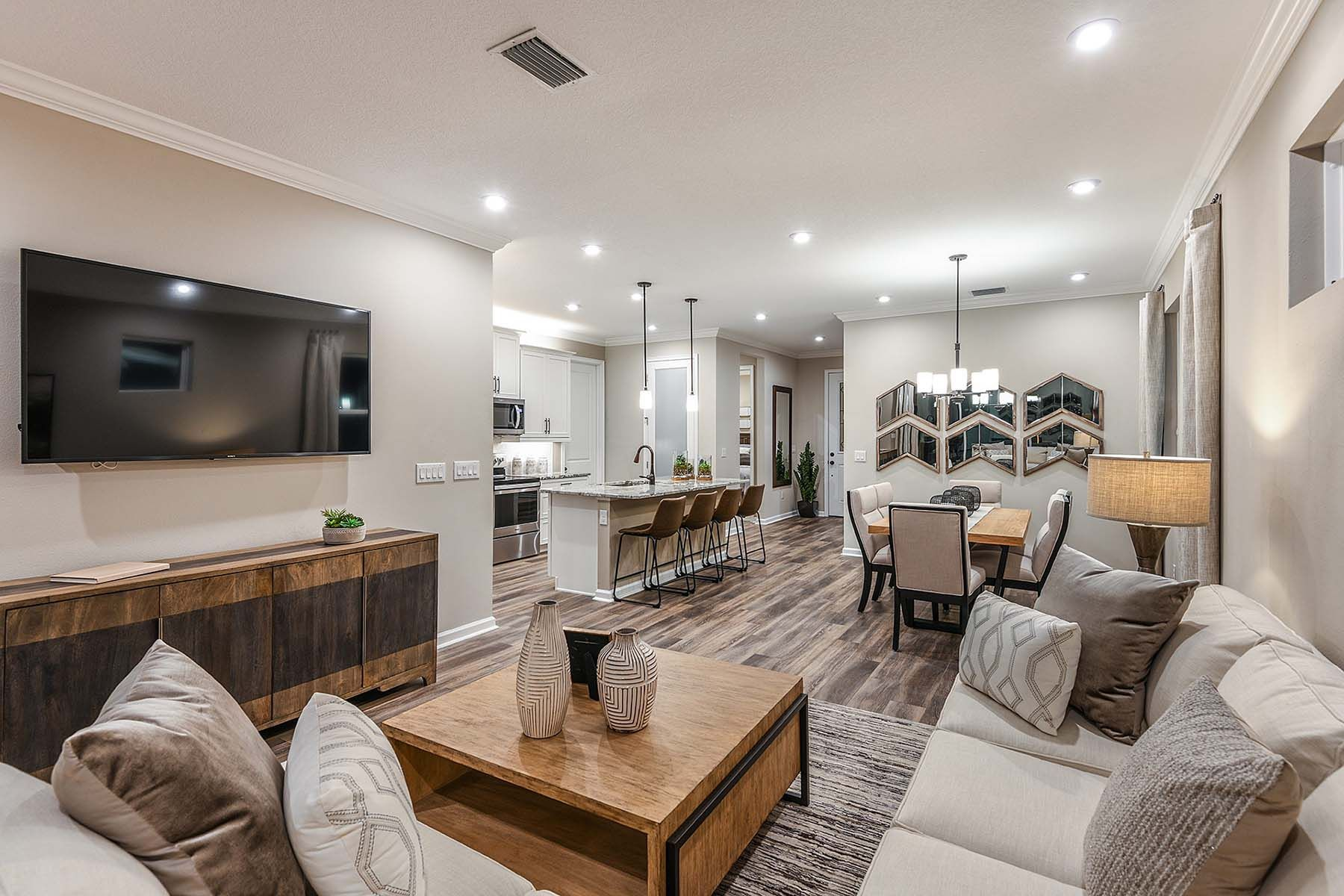 Living Area featured in the Largo By Mattamy Homes in Fort Myers, FL
