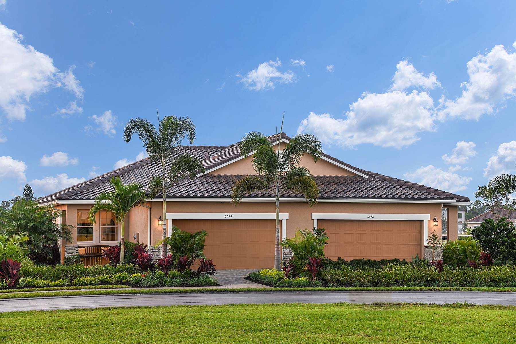 Exterior featured in the Largo By Mattamy Homes in Fort Myers, FL