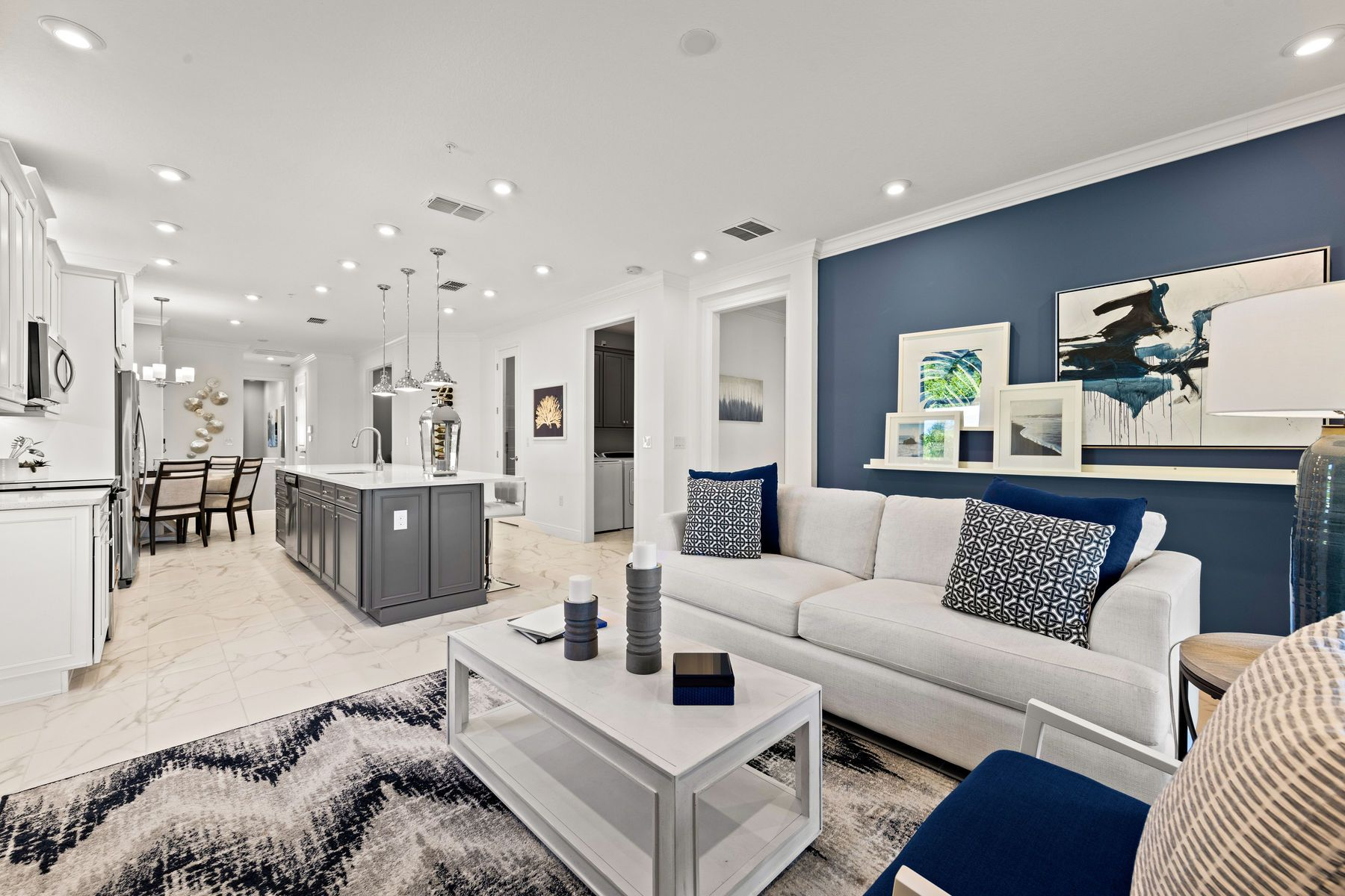 Living Area featured in the Captiva II By Mattamy Homes in Naples, FL