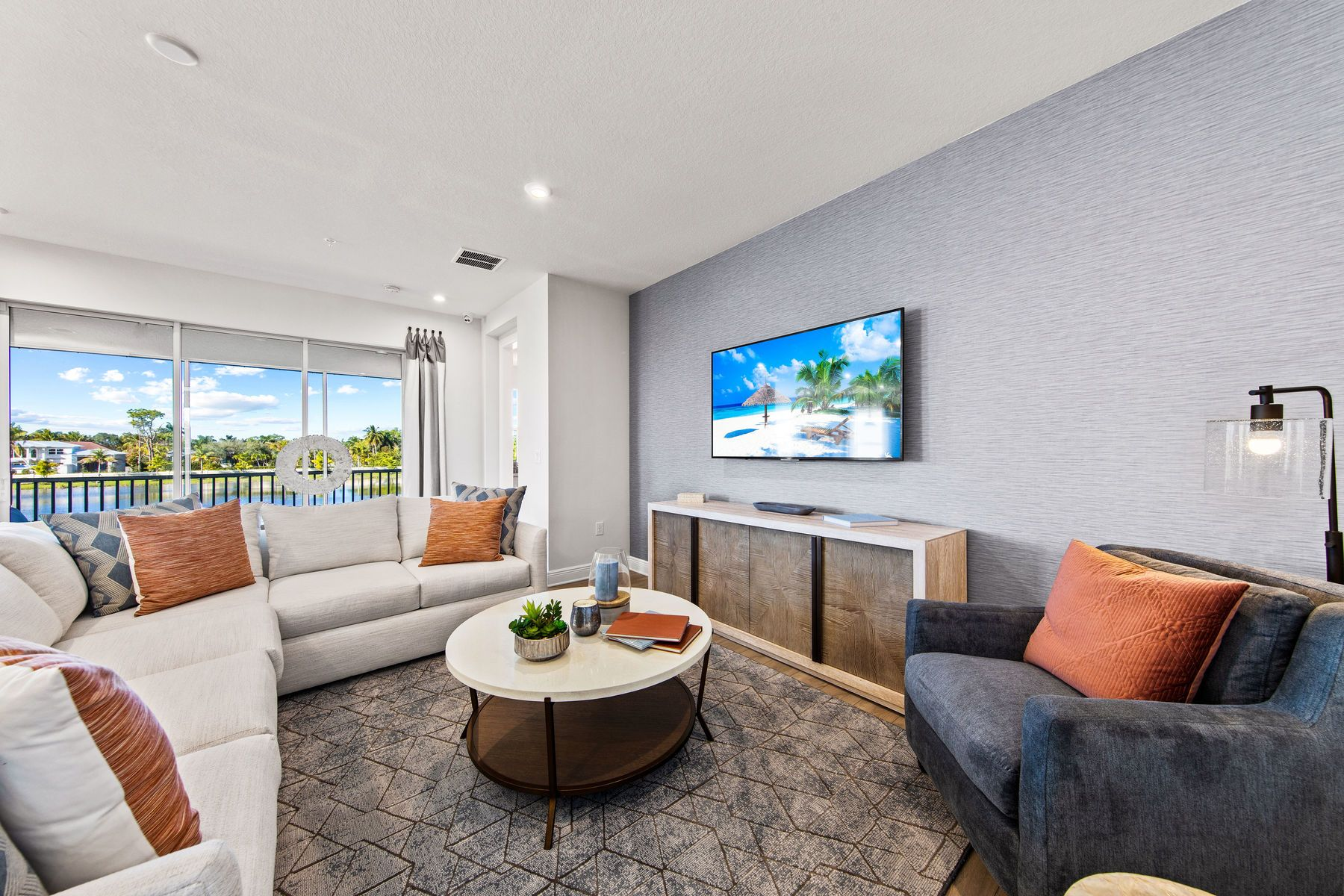 Living Area featured in the Oceangrove By Mattamy Homes in Naples, FL