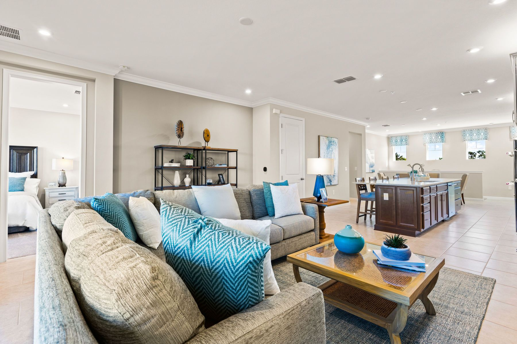 Living Area featured in the Seabright By Mattamy Homes in Naples, FL