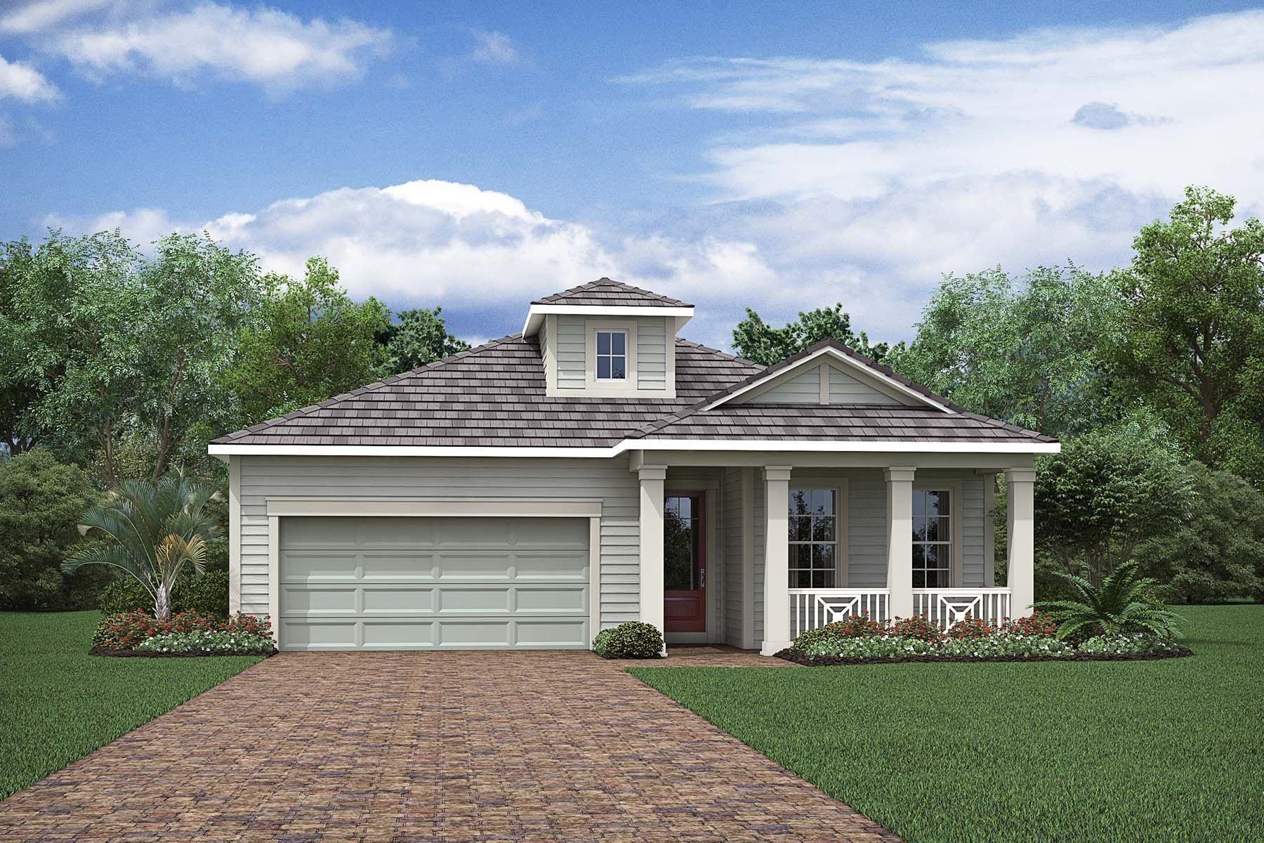 Exterior featured in the Alee By Mattamy Homes in Naples, FL