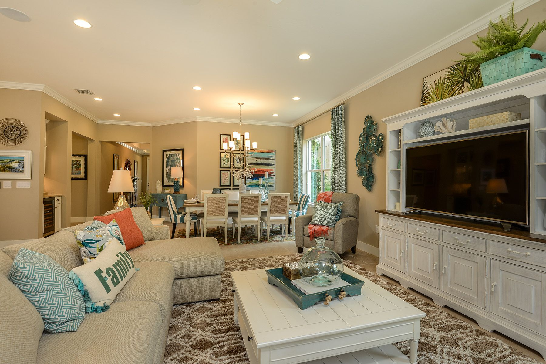 Living Area featured in the Banyan By Mattamy Homes in Naples, FL