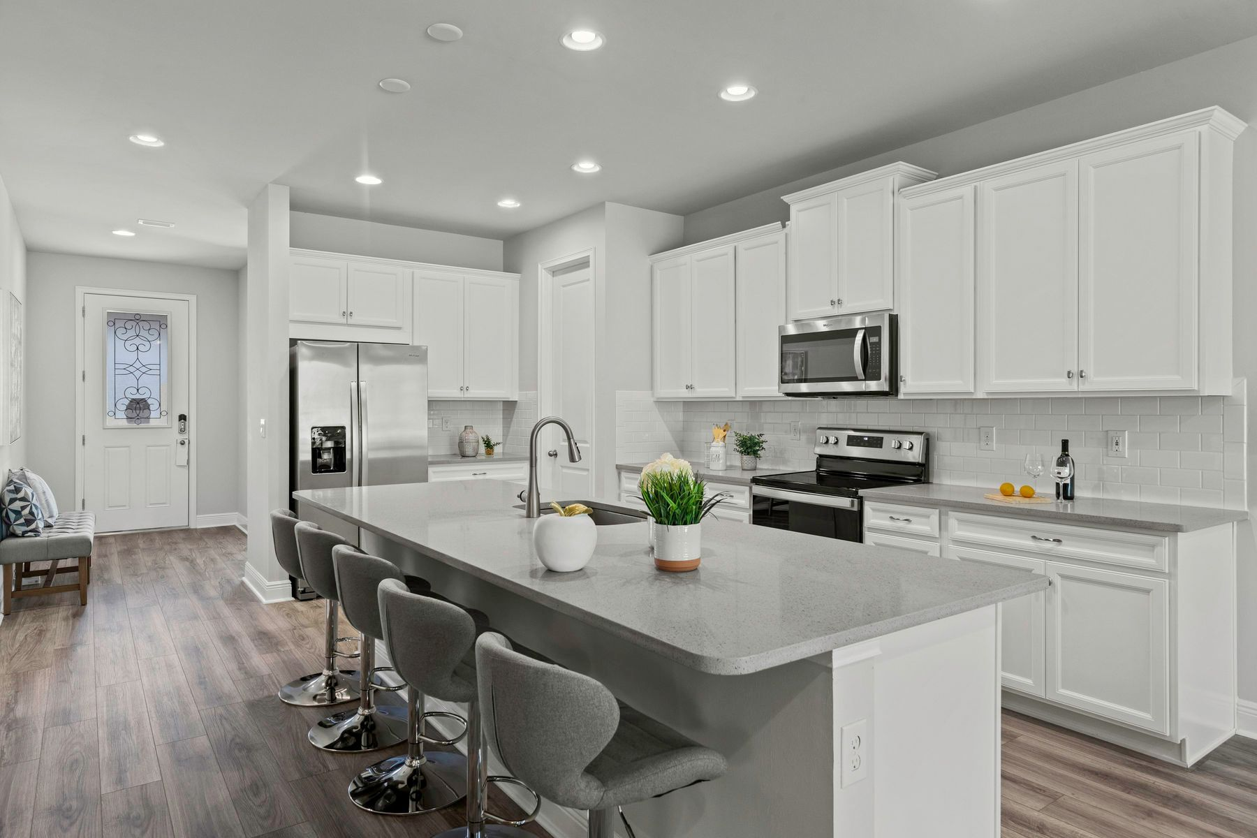 Kitchen featured in the Capstan By Mattamy Homes in Naples, FL