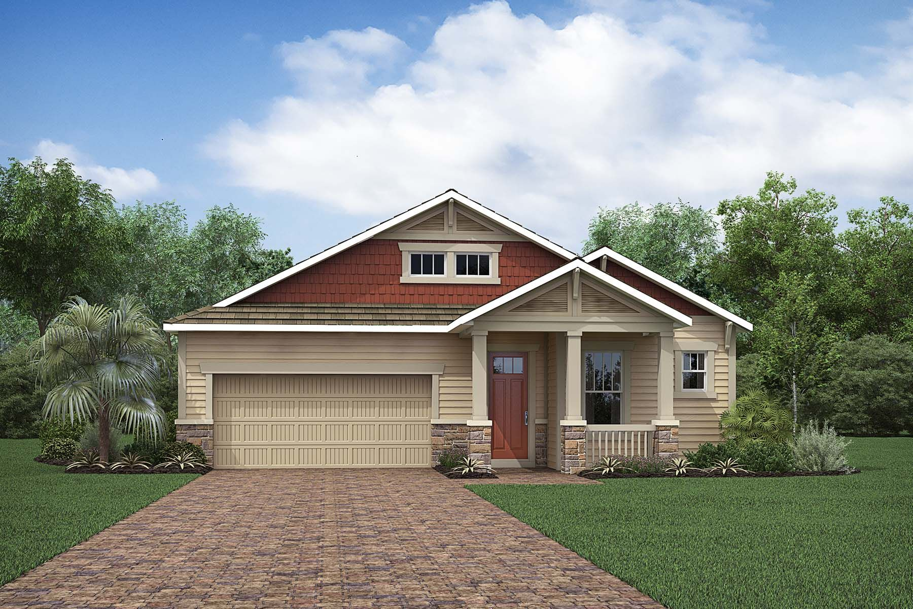 Exterior featured in the Capstan By Mattamy Homes in Naples, FL