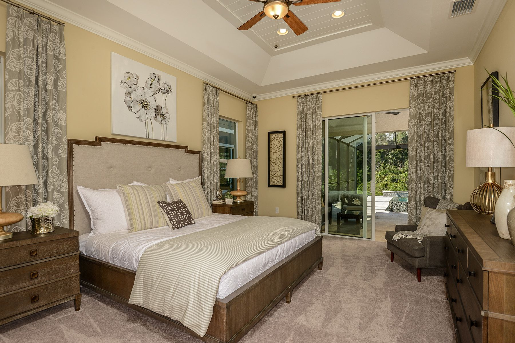 Bedroom featured in the Commodore By Mattamy Homes in Naples, FL