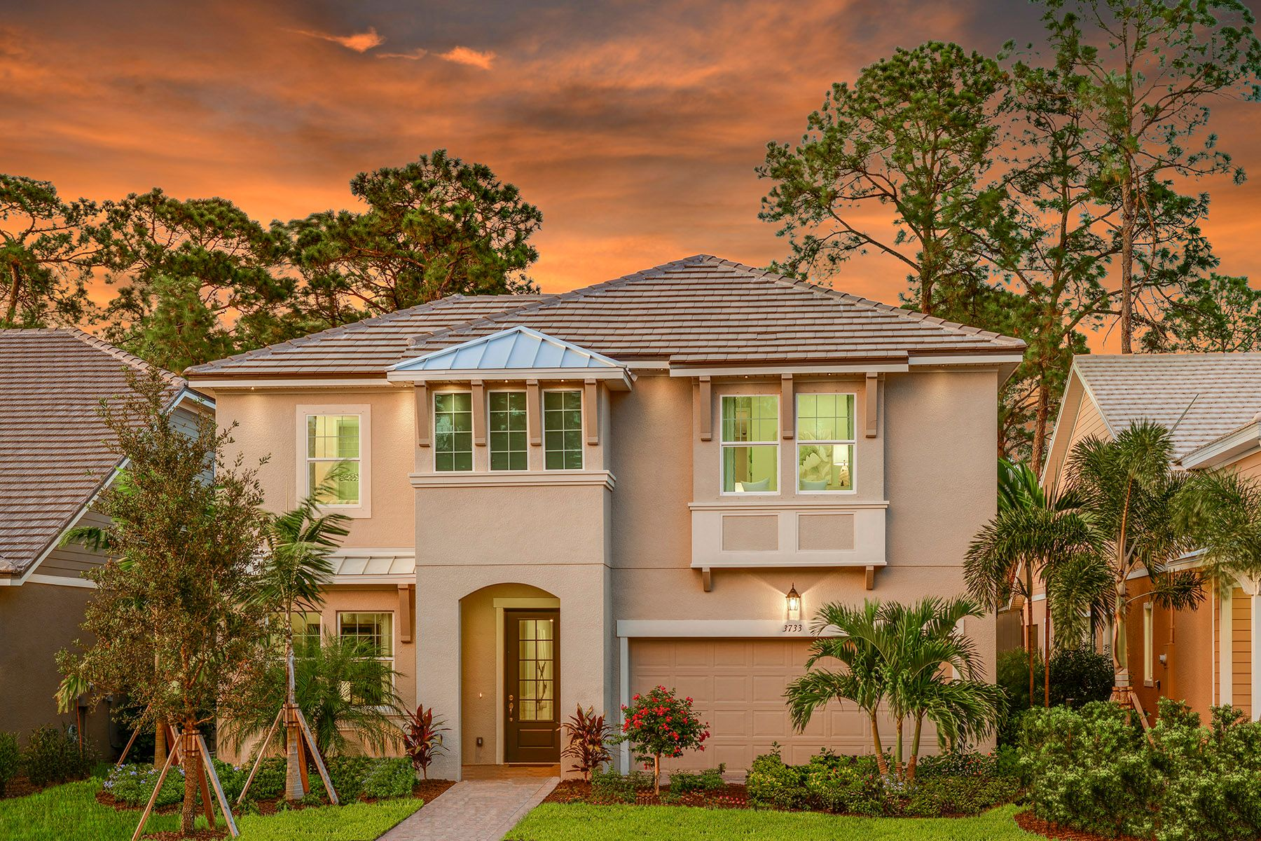 Exterior featured in the Commodore By Mattamy Homes in Naples, FL