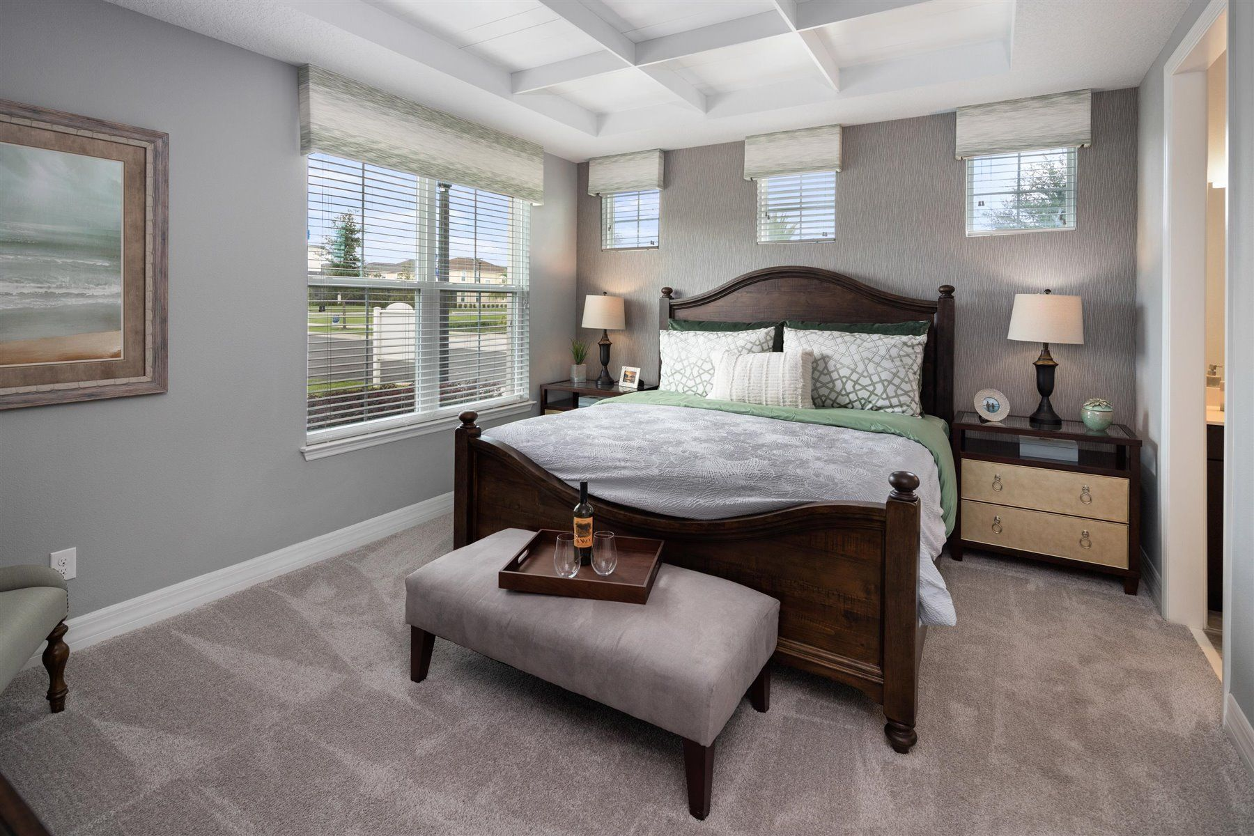Bedroom featured in the Del Ray By Mattamy Homes in Orlando, FL