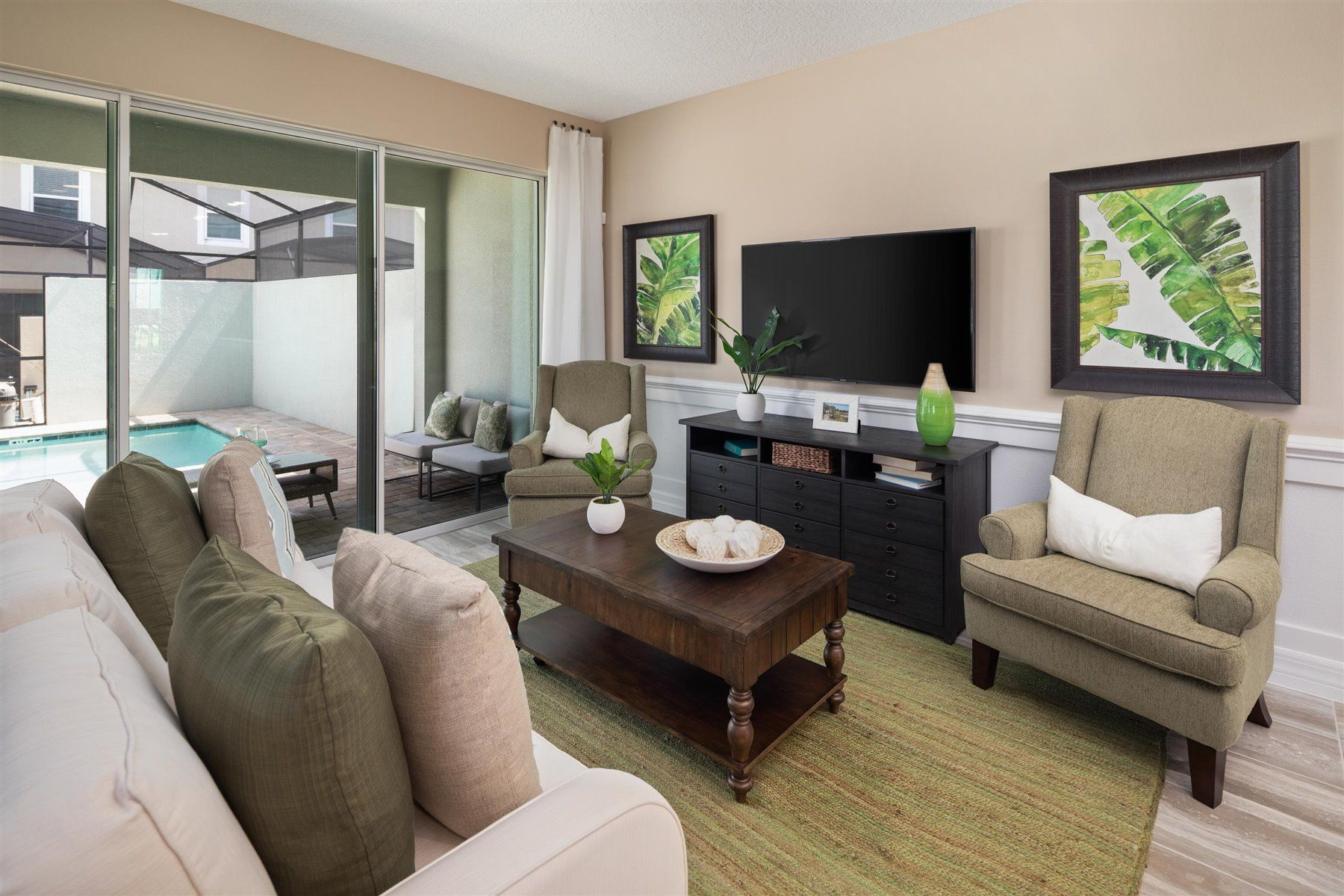 Living Area featured in the Del Ray By Mattamy Homes in Orlando, FL