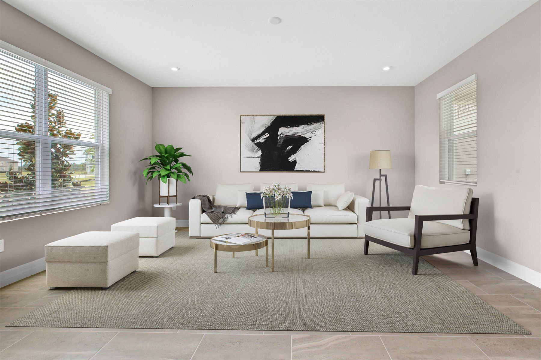 Living Area featured in the Belmont By Mattamy Homes in Orlando, FL
