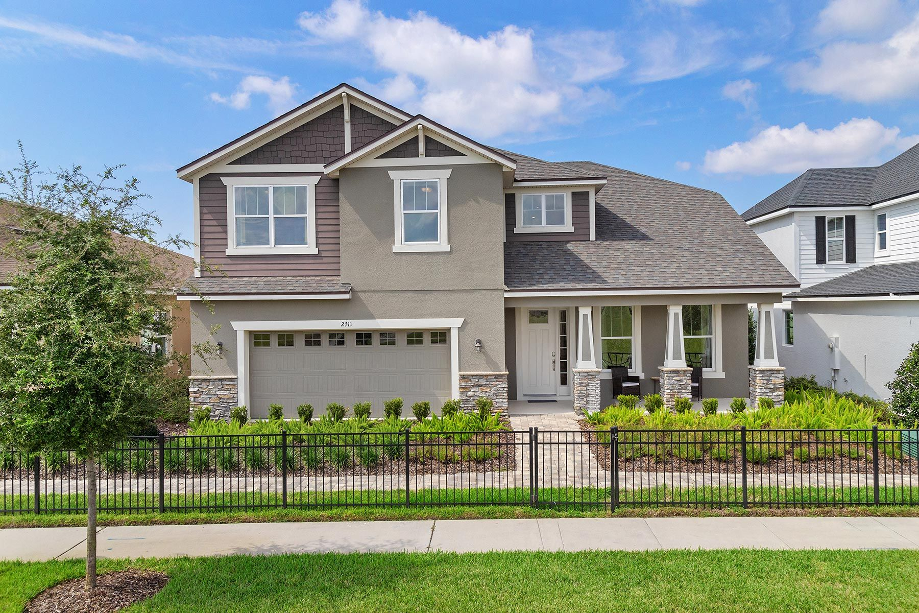 Exterior featured in the Kensington By Mattamy Homes in Orlando, FL