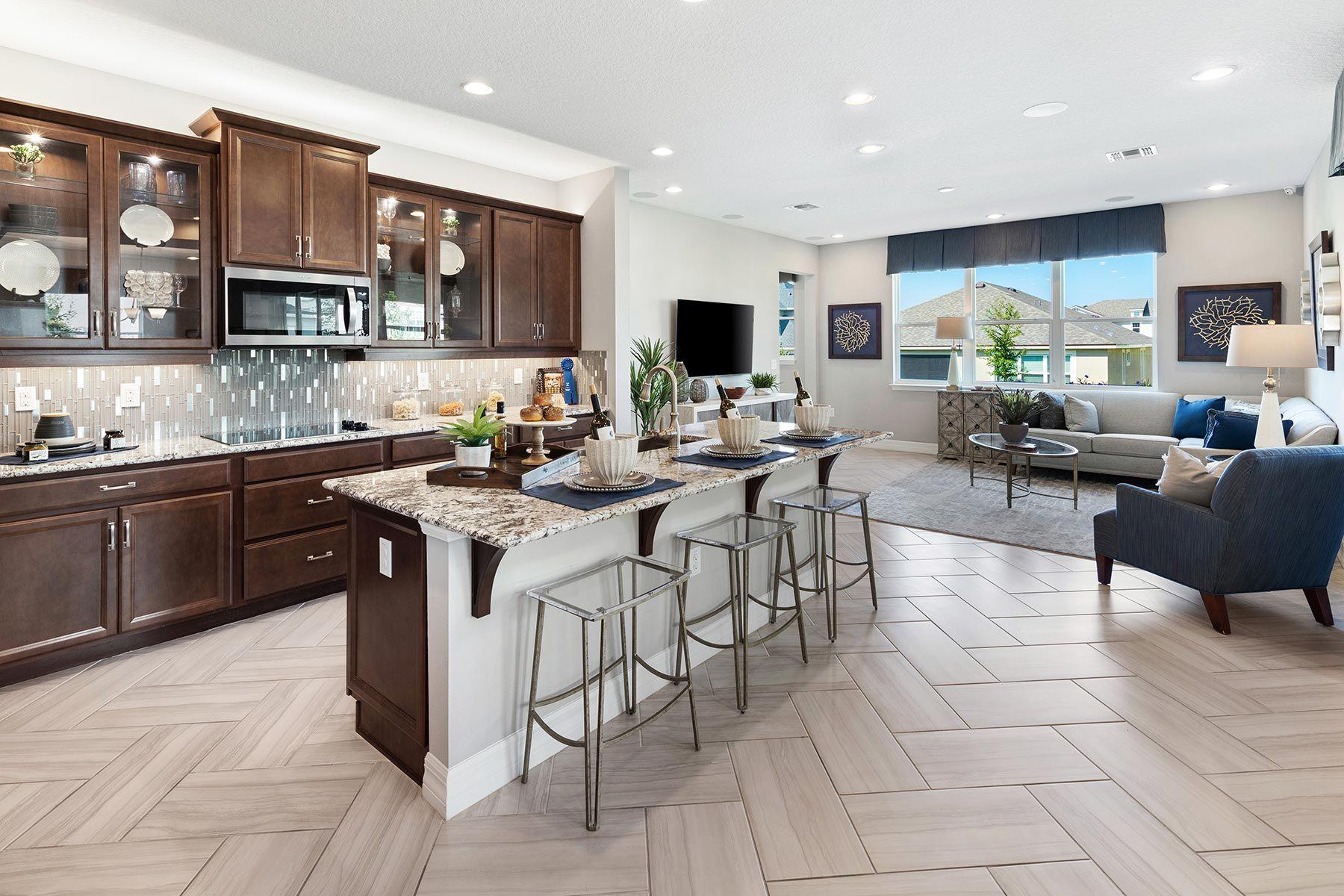 Kitchen featured in the Kensington By Mattamy Homes in Orlando, FL