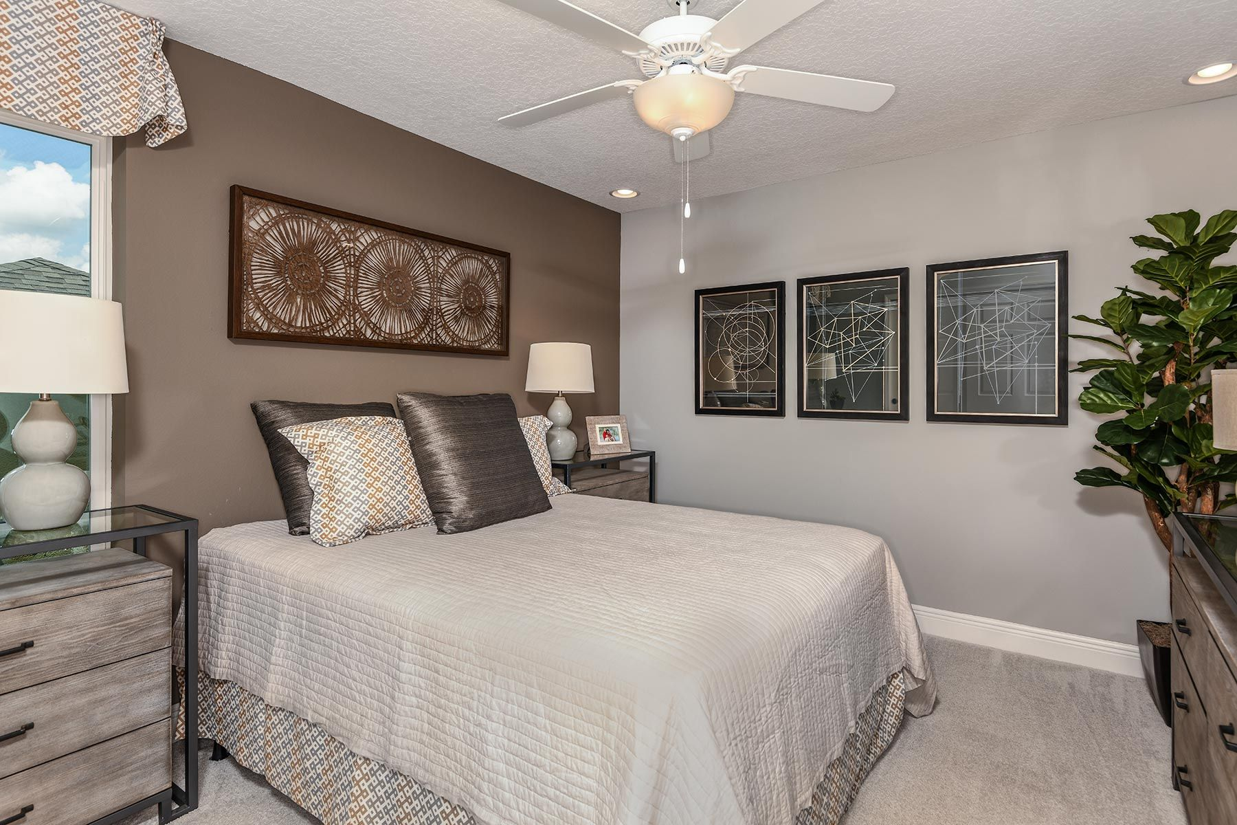 Bedroom featured in the Riverside II By Mattamy Homes in Orlando, FL