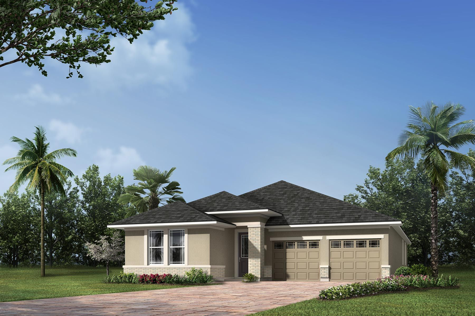 Exterior featured in the Derby By Mattamy Homes in Orlando, FL